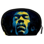 Gabz Jimi Hendrix Voodoo Child Poster Release From Dark Hall Mansion Accessory Pouches (Large)  Back