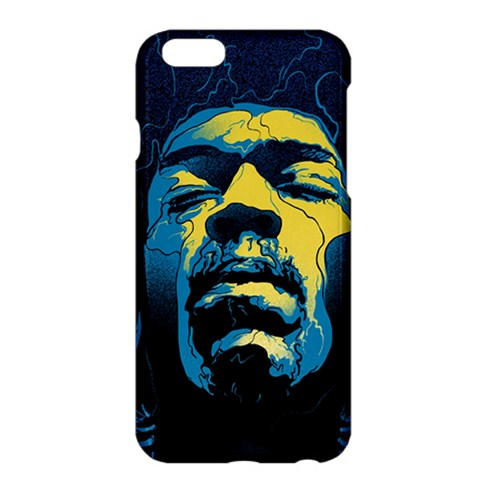 Gabz Jimi Hendrix Voodoo Child Poster Release From Dark Hall Mansion Apple iPhone 6 Plus/6S Plus Hardshell Case