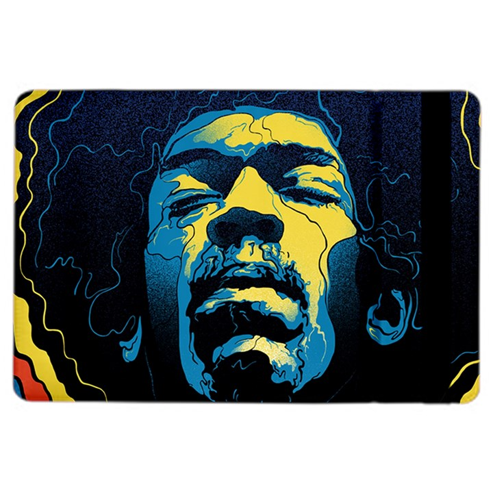 Gabz Jimi Hendrix Voodoo Child Poster Release From Dark Hall Mansion iPad Air 2 Flip