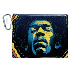 Gabz Jimi Hendrix Voodoo Child Poster Release From Dark Hall Mansion Canvas Cosmetic Bag (XXL)