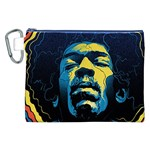Gabz Jimi Hendrix Voodoo Child Poster Release From Dark Hall Mansion Canvas Cosmetic Bag (XXL) Front