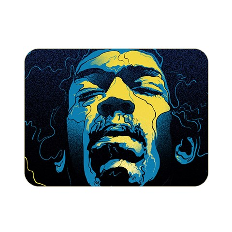 Gabz Jimi Hendrix Voodoo Child Poster Release From Dark Hall Mansion Double Sided Flano Blanket (Mini)