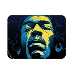 Gabz Jimi Hendrix Voodoo Child Poster Release From Dark Hall Mansion Double Sided Flano Blanket (Mini)  35 x27 Blanket Front