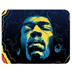 Gabz Jimi Hendrix Voodoo Child Poster Release From Dark Hall Mansion Double Sided Flano Blanket (Medium)  60 x50 Blanket Back