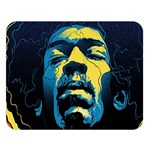 Gabz Jimi Hendrix Voodoo Child Poster Release From Dark Hall Mansion Double Sided Flano Blanket (Large)   Blanket Back