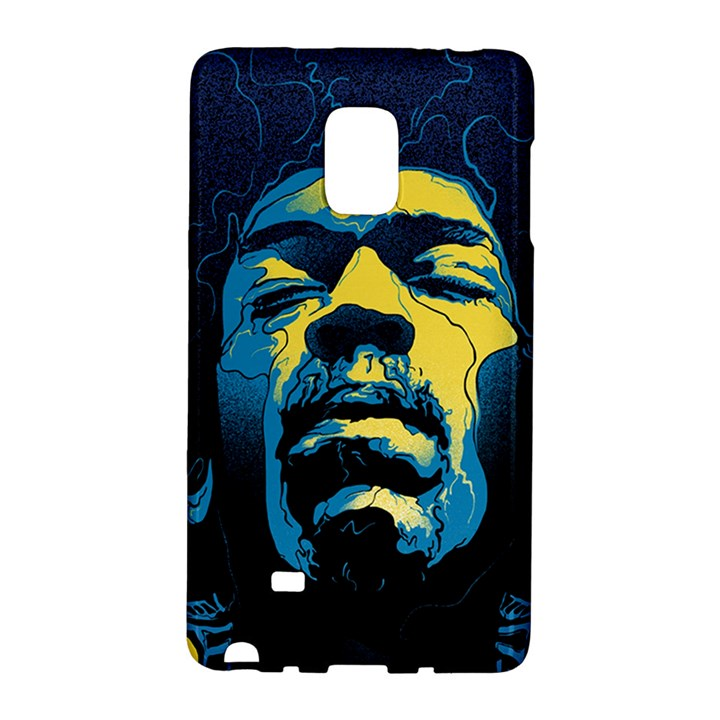 Gabz Jimi Hendrix Voodoo Child Poster Release From Dark Hall Mansion Galaxy Note Edge