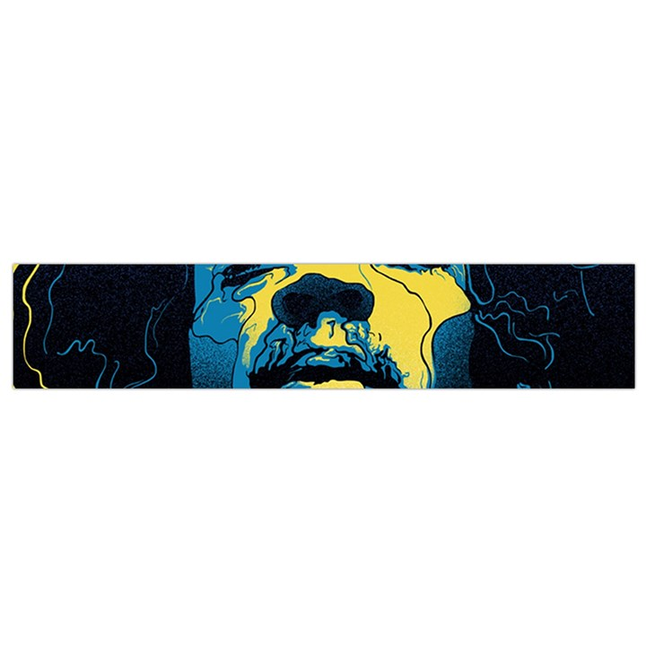 Gabz Jimi Hendrix Voodoo Child Poster Release From Dark Hall Mansion Flano Scarf (Small)
