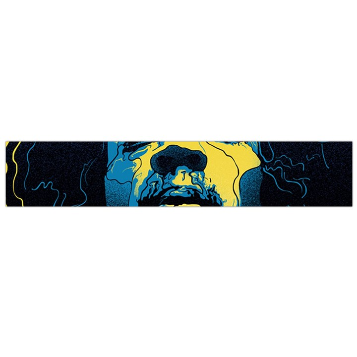 Gabz Jimi Hendrix Voodoo Child Poster Release From Dark Hall Mansion Flano Scarf (Large)