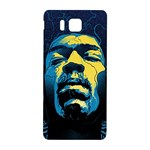 Gabz Jimi Hendrix Voodoo Child Poster Release From Dark Hall Mansion Samsung Galaxy Alpha Hardshell Back Case Front