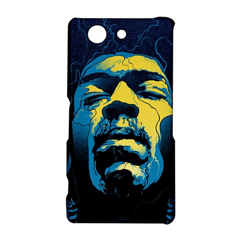 Gabz Jimi Hendrix Voodoo Child Poster Release From Dark Hall Mansion Sony Xperia Z3 Compact