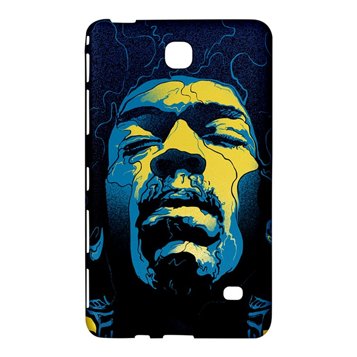 Gabz Jimi Hendrix Voodoo Child Poster Release From Dark Hall Mansion Samsung Galaxy Tab 4 (7 ) Hardshell Case