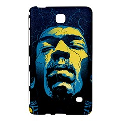 Gabz Jimi Hendrix Voodoo Child Poster Release From Dark Hall Mansion Samsung Galaxy Tab 4 (8 ) Hardshell Case