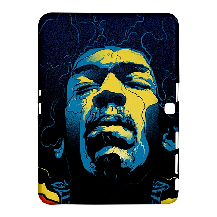 Gabz Jimi Hendrix Voodoo Child Poster Release From Dark Hall Mansion Samsung Galaxy Tab 4 (10.1 ) Hardshell Case