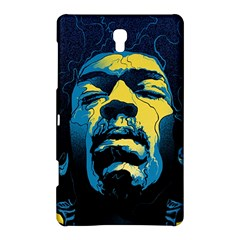 Gabz Jimi Hendrix Voodoo Child Poster Release From Dark Hall Mansion Samsung Galaxy Tab S (8 4 ) Hardshell Case