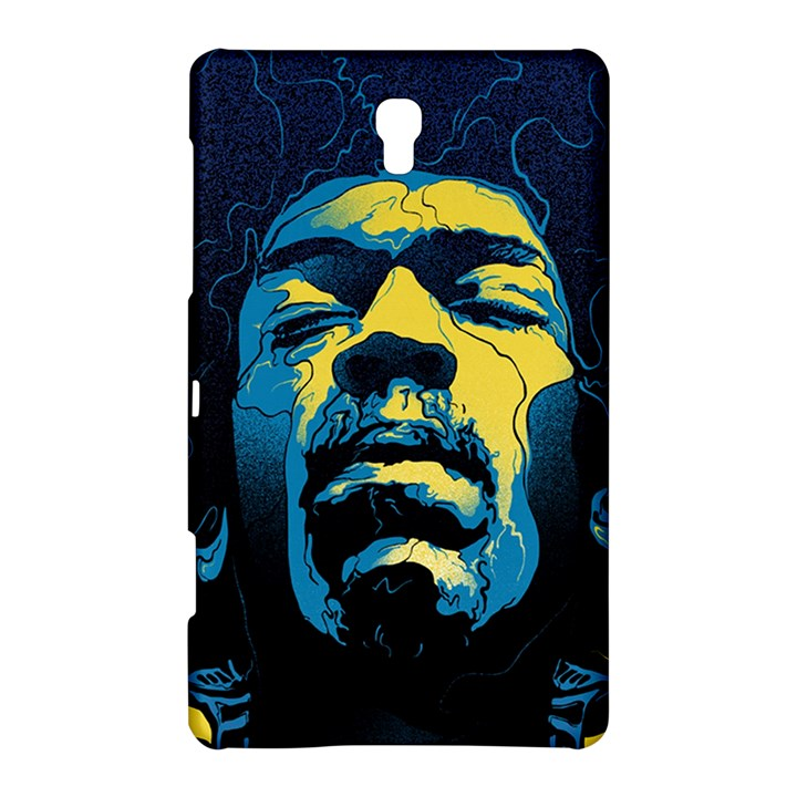 Gabz Jimi Hendrix Voodoo Child Poster Release From Dark Hall Mansion Samsung Galaxy Tab S (8.4 ) Hardshell Case