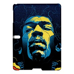 Gabz Jimi Hendrix Voodoo Child Poster Release From Dark Hall Mansion Samsung Galaxy Tab S (10.5 ) Hardshell Case