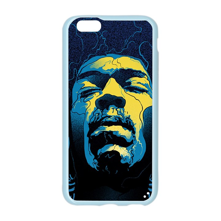 Gabz Jimi Hendrix Voodoo Child Poster Release From Dark Hall Mansion Apple Seamless iPhone 6/6S Case (Color)