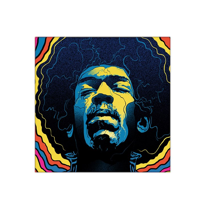 Gabz Jimi Hendrix Voodoo Child Poster Release From Dark Hall Mansion Satin Bandana Scarf