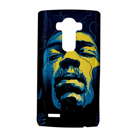 Gabz Jimi Hendrix Voodoo Child Poster Release From Dark Hall Mansion LG G4 Hardshell Case