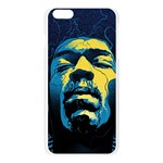 Gabz Jimi Hendrix Voodoo Child Poster Release From Dark Hall Mansion Apple Seamless iPhone 6 Plus/6S Plus Case (Transparent) Front