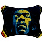 Gabz Jimi Hendrix Voodoo Child Poster Release From Dark Hall Mansion Jigsaw Puzzle Photo Stand (Bow) Front