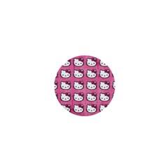 Hello Kitty Patterns 1  Mini Buttons