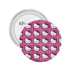Hello Kitty Patterns 2.25  Buttons