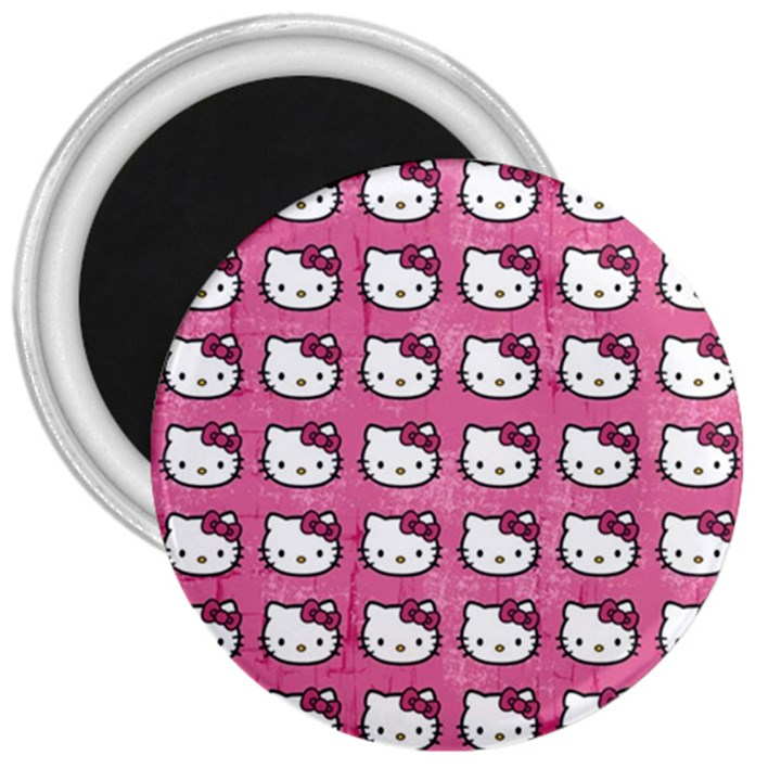 Hello Kitty Patterns 3  Magnets
