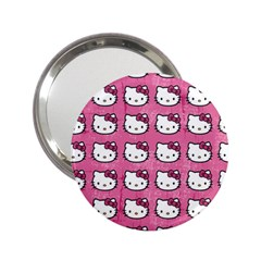 Hello Kitty Patterns 2.25  Handbag Mirrors