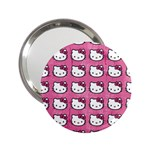 Hello Kitty Patterns 2.25  Handbag Mirrors Front