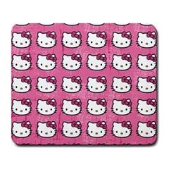 Hello Kitty Patterns Large Mousepads