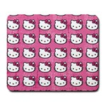 Hello Kitty Patterns Large Mousepads Front