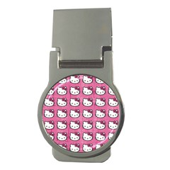 Hello Kitty Patterns Money Clips (Round)