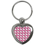 Hello Kitty Patterns Key Chains (Heart)  Front