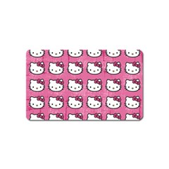 Hello Kitty Patterns Magnet (Name Card)
