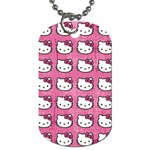 Hello Kitty Patterns Dog Tag (Two Sides) Back