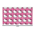 Hello Kitty Patterns Business Card Holders Front