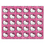 Hello Kitty Patterns Rectangular Jigsaw Puzzl Front
