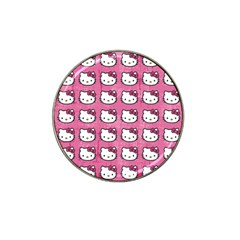 Hello Kitty Patterns Hat Clip Ball Marker (4 pack)