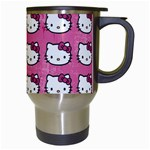 Hello Kitty Patterns Travel Mugs (White) Right