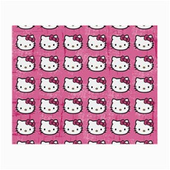 Hello Kitty Patterns Small Glasses Cloth
