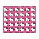 Hello Kitty Patterns Small Glasses Cloth Front