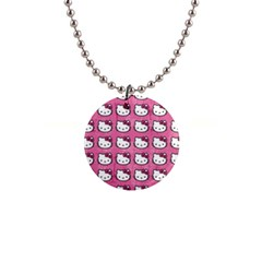 Hello Kitty Patterns Button Necklaces