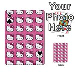 Hello Kitty Patterns Playing Cards 54 Designs  Front - Spade4