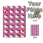 Hello Kitty Patterns Playing Cards 54 Designs  Front - Diamond8