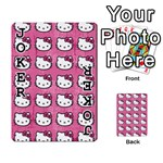 Hello Kitty Patterns Playing Cards 54 Designs  Front - Joker1