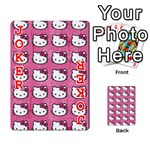 Hello Kitty Patterns Playing Cards 54 Designs  Front - Joker2