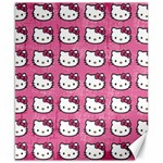 Hello Kitty Patterns Canvas 8  x 10  10.02 x8 Canvas - 1