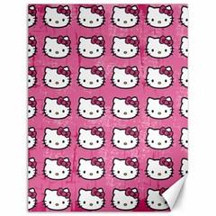 Hello Kitty Patterns Canvas 12  x 16