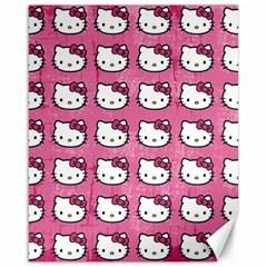 Hello Kitty Patterns Canvas 16  x 20